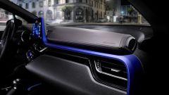 Toyota C-HR: l'elemento distintivo è la cornice blu