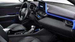 Toyota C-HR: lo schermo dell'infotainment è da 8 pollici