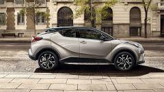 Toyota C-HR: lo stile degli esterni rimane molto fedele alla concept car