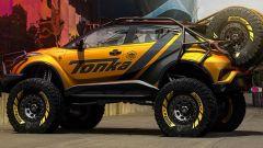 Toyota C-HR Offroad Bully: il fianco del rendering