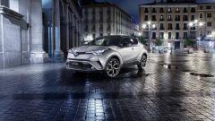 Toyota C-HR: sarà a trazione anteriore o integrale