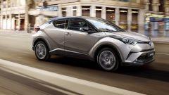 Toyota C-HR: si potrà avere a trazione integrale o solo anteriore