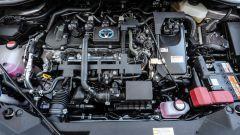 Toyota C-HR: si può avere o col sistema ibrido della Prius o con un 1.2 turbo benzina da 114 cv