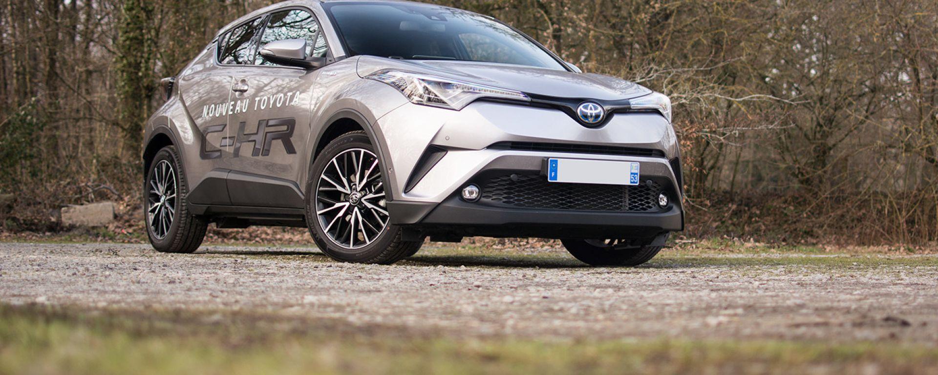 Toyota CH-R, tra i modelli ibridi più diffusi sul mercato dell'usato