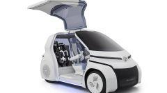 Toyota Concept-i Ride portellone aperto