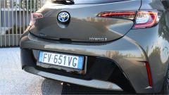 Toyota Corolla Hybrid 2019 dettaglio posteriore