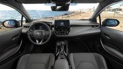 Toyota Corolla Hybrid 2019: gli interni