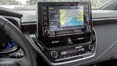 Toyota Corolla Hybrid 2019: il navigatore