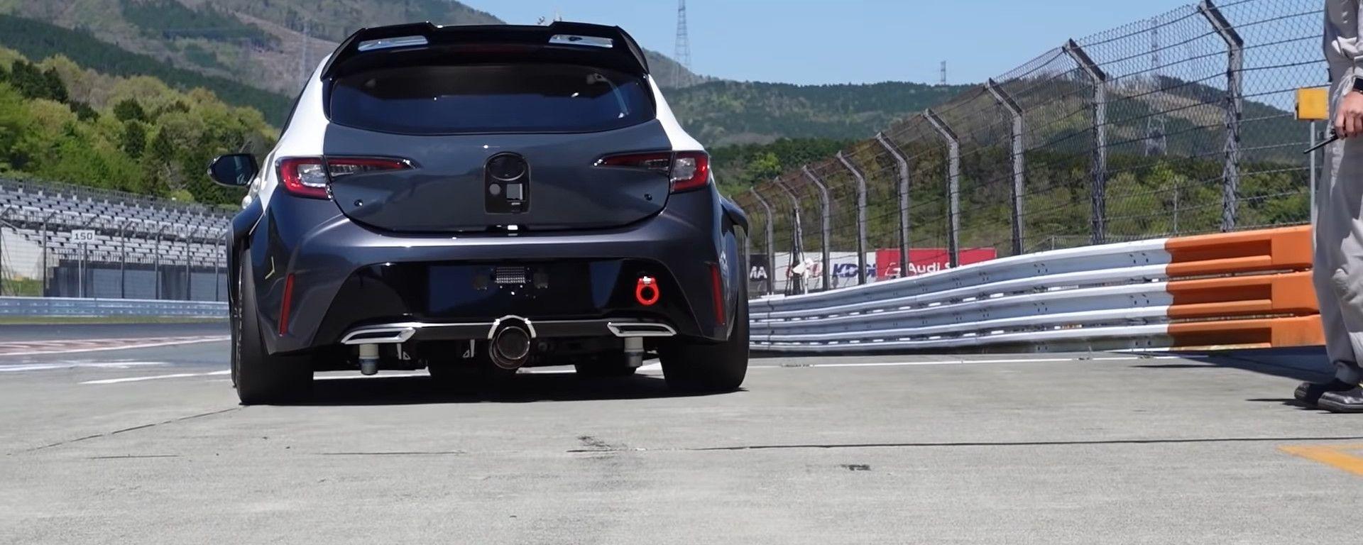 Toyota Corolla Sport con motore a idrogeno