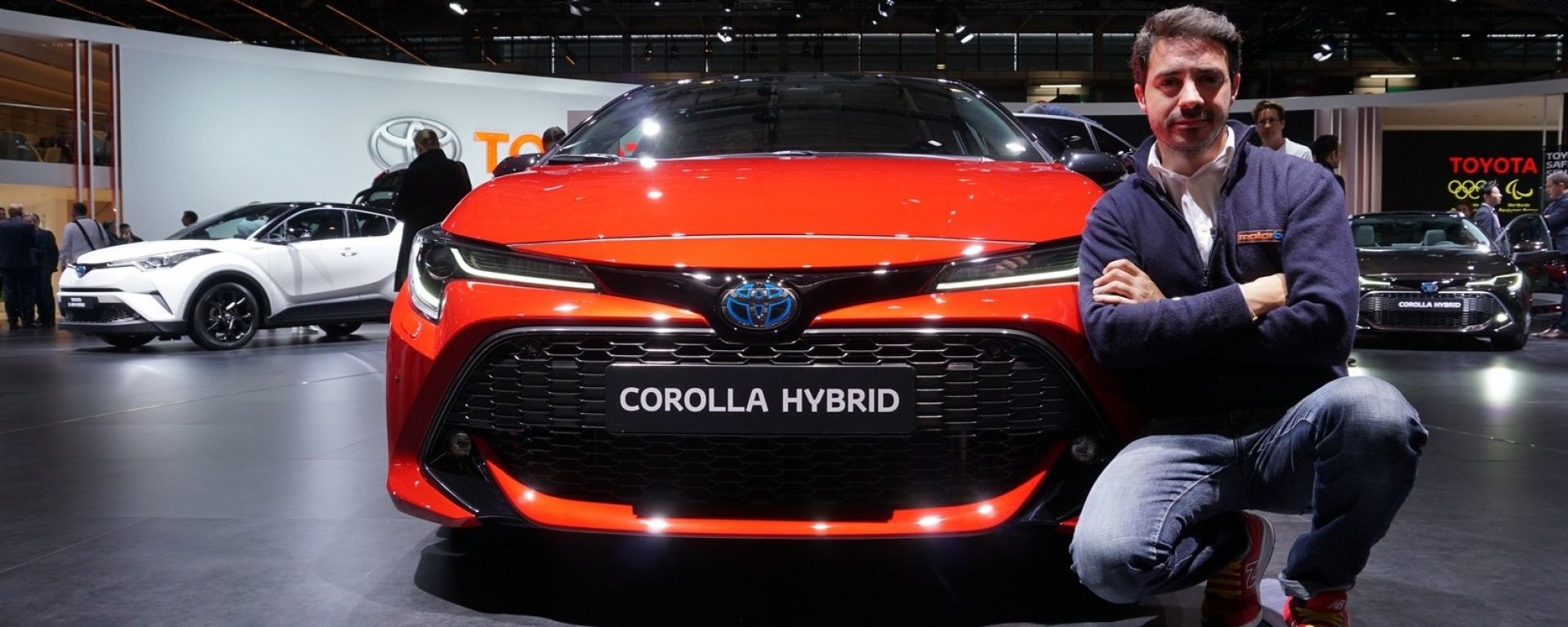 Toyota Corolla 2019: in video dal Salone di Parigi 2018