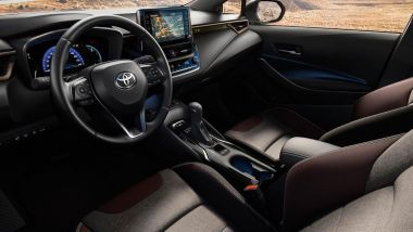 Toyota Corolla Touring Sports Trek: l'abitacolo