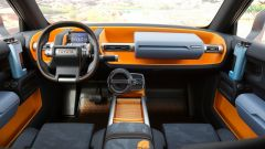 Toyota FT-4X concept, gli interni