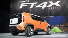 Toyota FT-4X concept, il SUV dei millennials