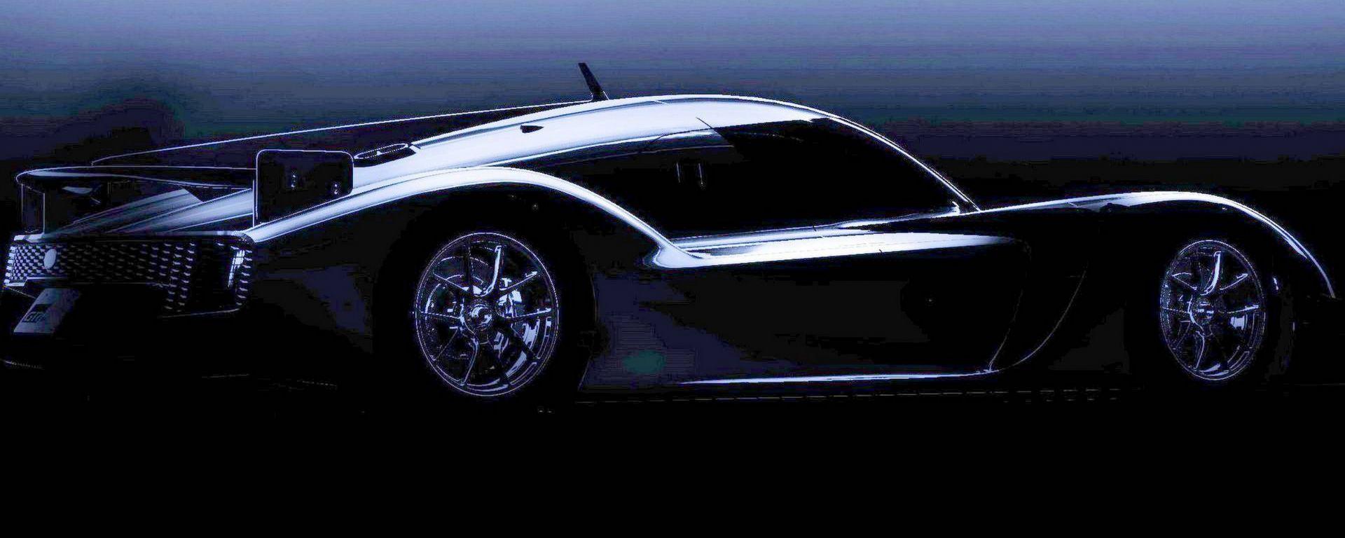 Toyota GR Super Sport Concept: i bozzetti della supercar