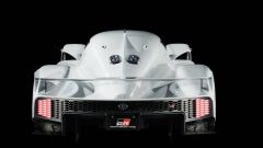 Toyota GR Super Sport Concept: il posteriore