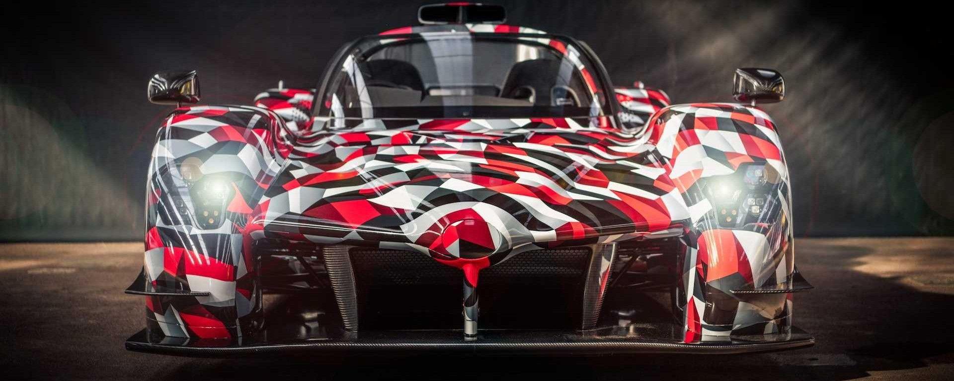 Toyota GR Super Sport: frontale