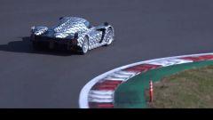 Toyota GR Super Sport in azione al Fuji Speedway: vista posteriore