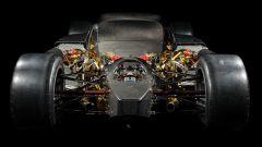 Toyota GR Super Sport: la meccanica, vista posteriore