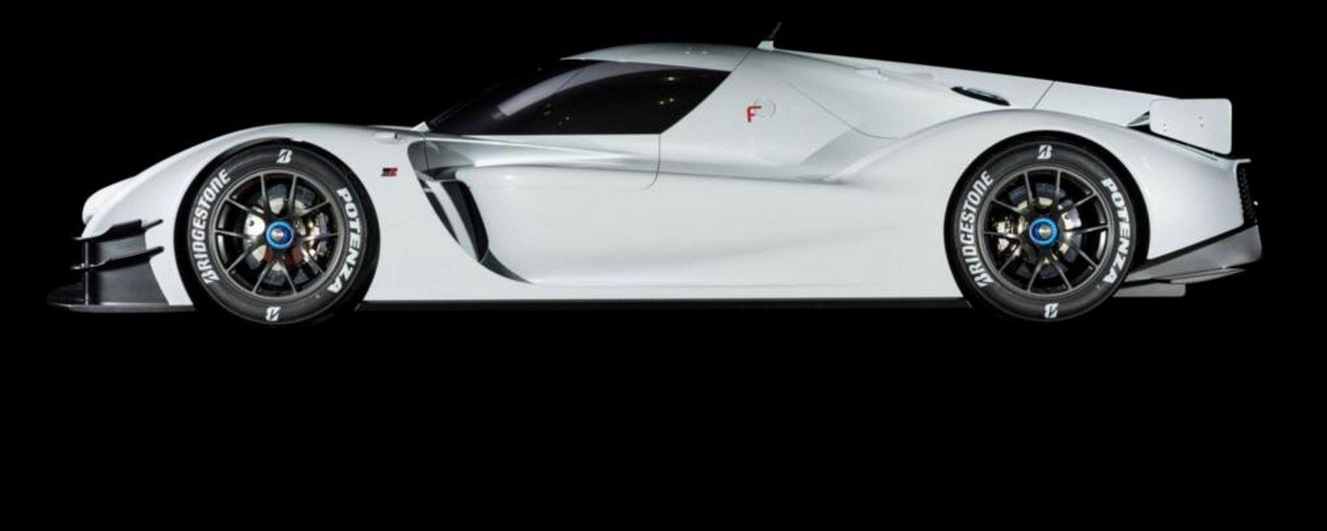 Toyota GR Super Sport: vista laterale