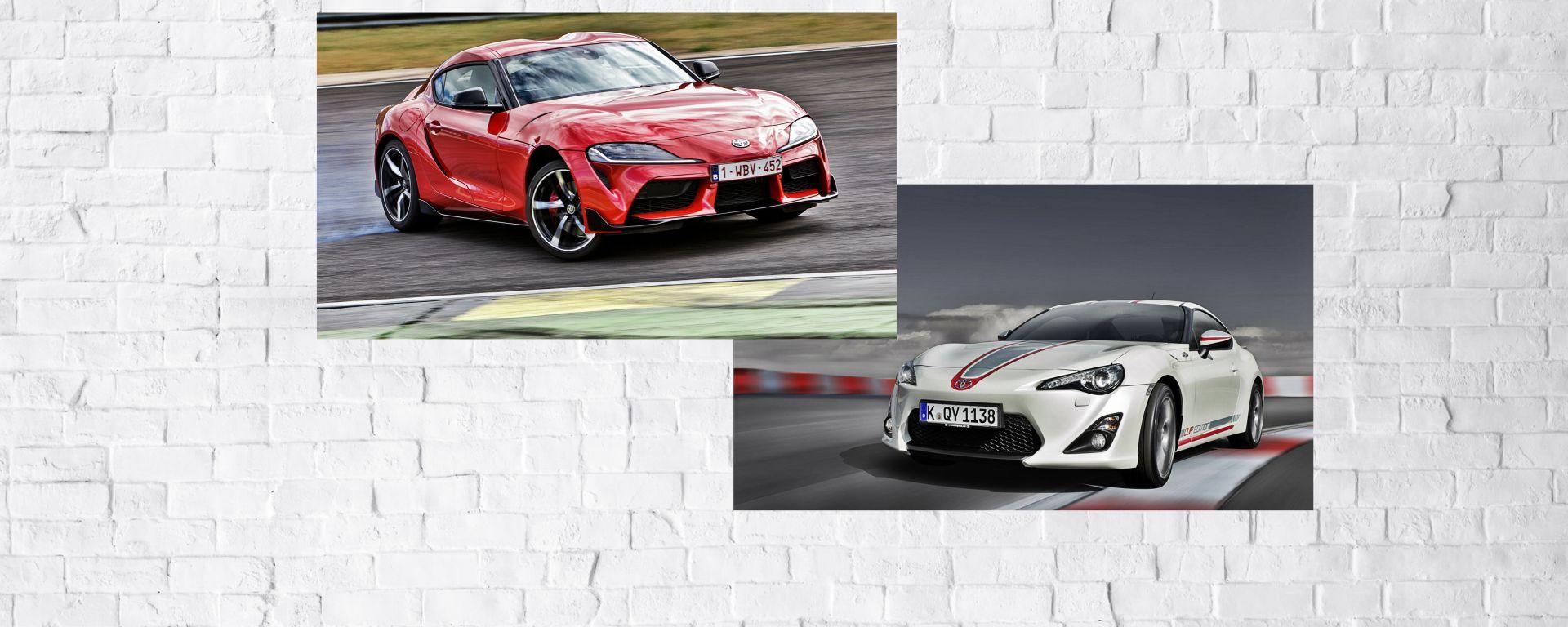 Toyota GR Supra e Toyota GT86 a confronto quale diverte di più?