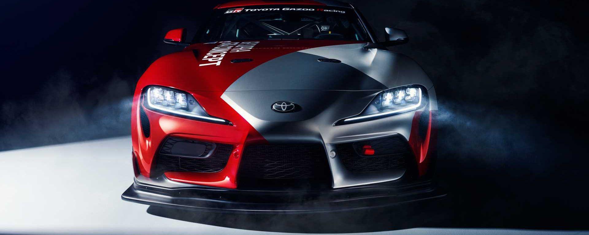 Toyota GR Supra GT4: a Ginevra la concept con ambizioni da gara