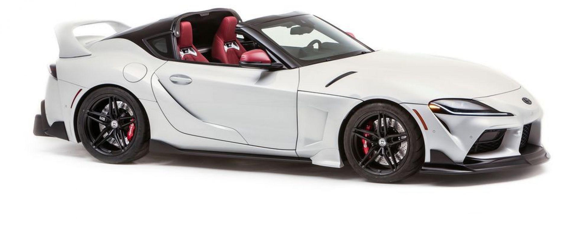 Toyota GR Supra Sport Top, la one-off decapottabile