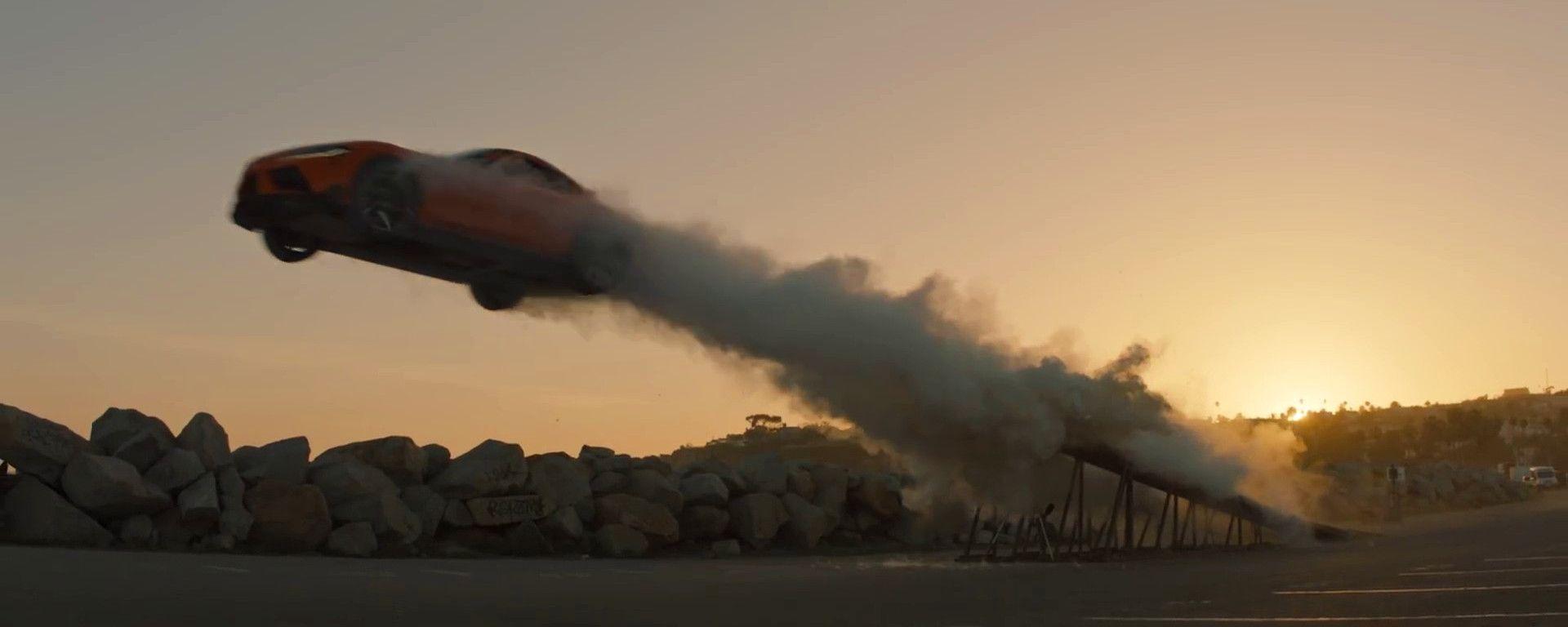 Toyota GR Supra: un frame del video The Pitch
