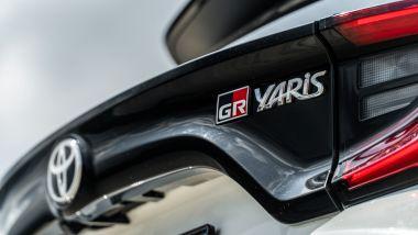 Toyota GR Yaris, il posteriore