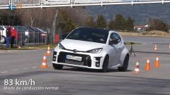 Toyota GR Yaris: il test dell'alce nel video da YouTube