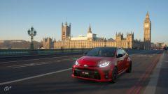 Toyota GR Yaris in una schermata di Gran Turismo Sport per PS4