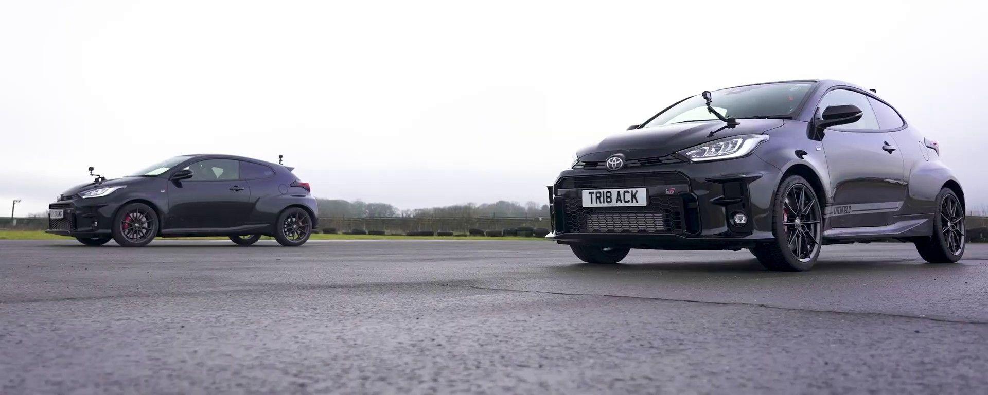 Toyota GR Yaris standard vs quella sottoposta a tuning da Litchfield