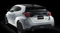 Toyota GR Yaris: visuale di 3/4 posteriore