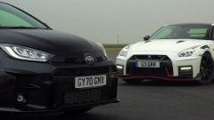 Toyota GR Yaris vs Nissan GT-R Nismo