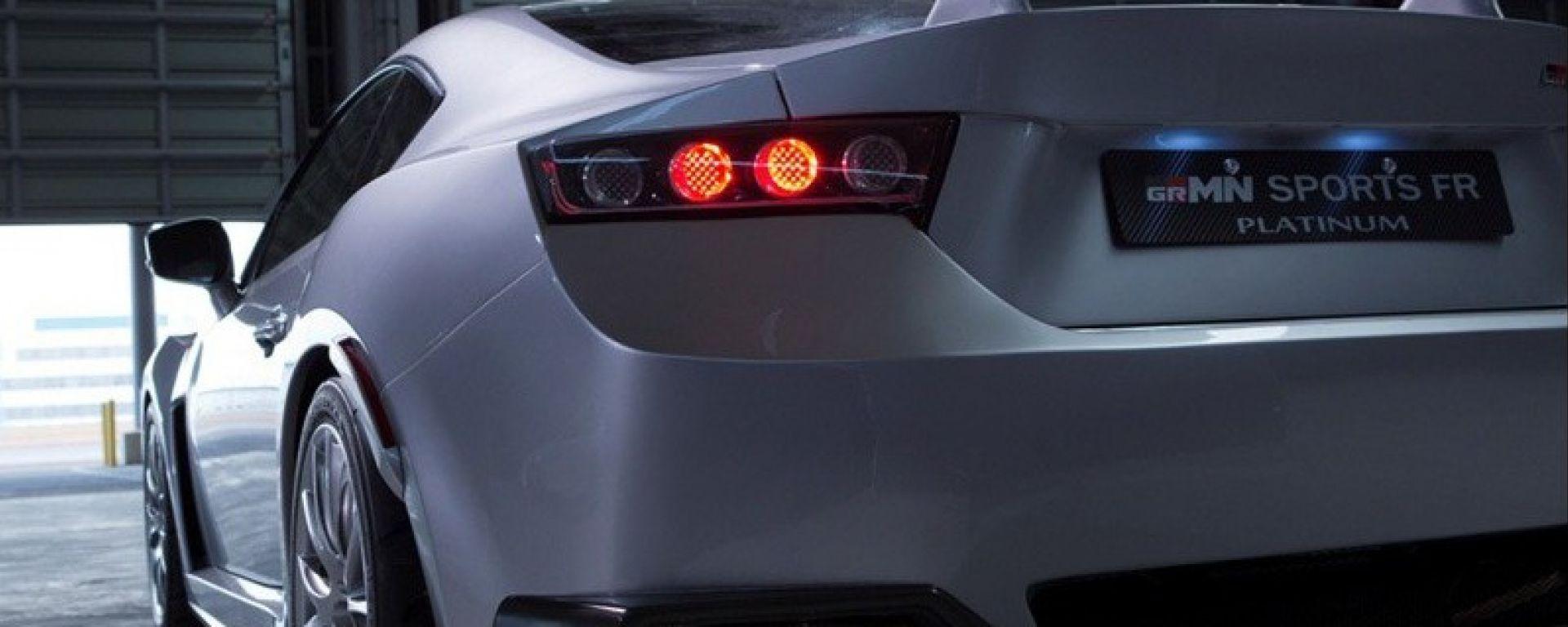 Toyota GT86 GRMN Sports FR Concept Platinum