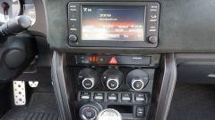 Toyota GT86 - il sistema di Infotainment con display 4,2