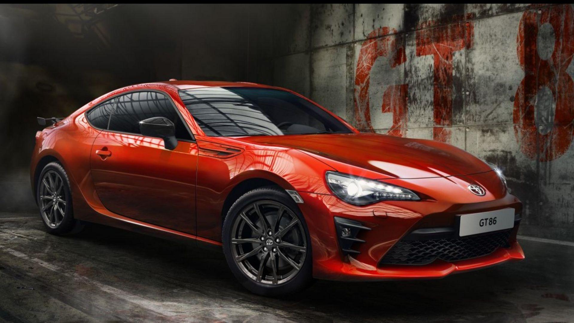 novit u00e0 auto  toyota gt86 orange limited edition