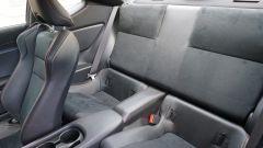Toyota GT86 - struttura dei sedili 2+2
