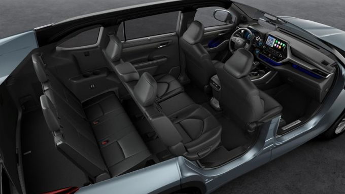 Toyota Highlander: il SUV 7 posti