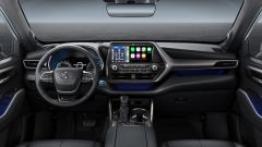Toyota Highlander: interni, l'abitacolo
