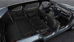 Toyota Highlander: lo spazio, abbattute le due file di sedili posteriori, è di oltre 1900 litri