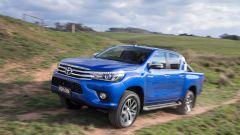 Toyota Hilux, vista 3/4 anteriore
