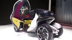 Toyota i-TRIL Concept: all'interno ci sono materiali pregiati