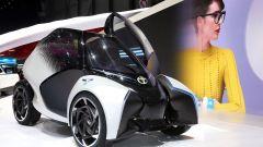 Toyota i-TRIL Concept: è stata pensata per mamme single con 2 bambini