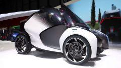 Toyota i-TRIL Concept: i cerchi misurano 21 pollici