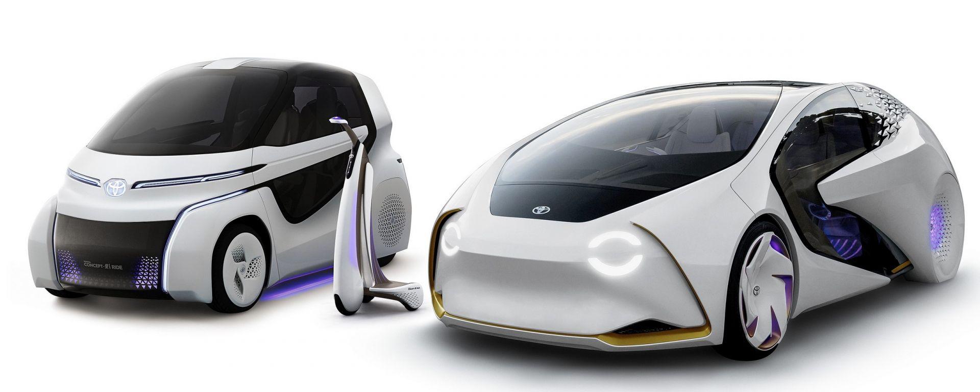 Toyota la gamma Concept-i: Concept-i, Concept-i Ridee Concept-i Walk