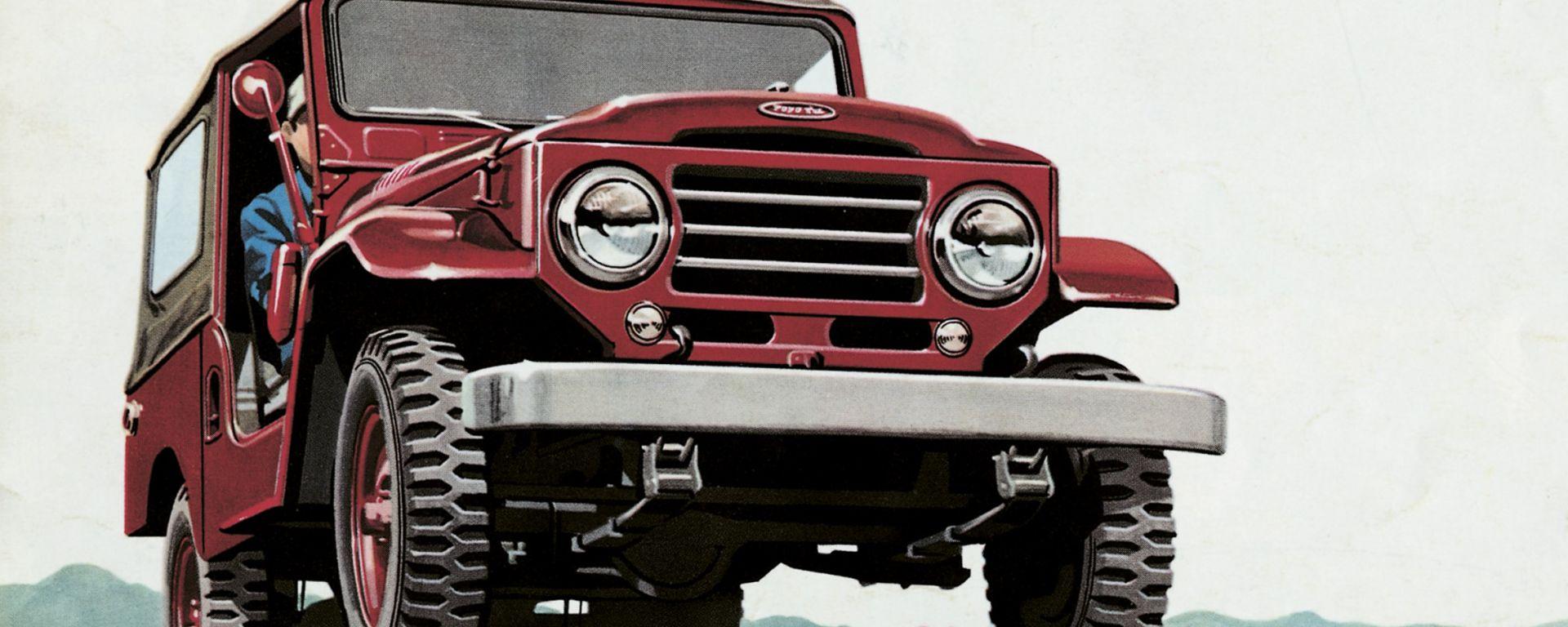 Toyota Land Cruiser: 150 foto in HD per i suoi primi 60 anni