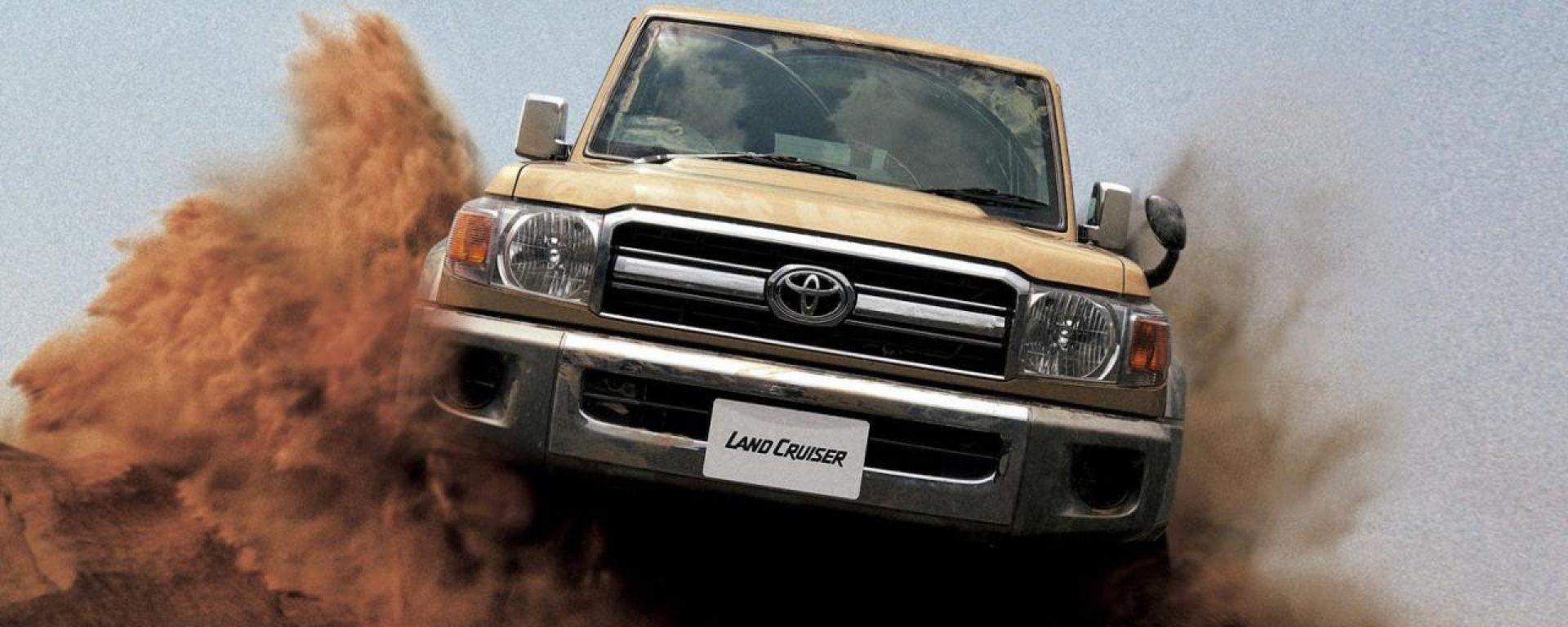 Toyota Land Cruiser 70, il ritorno