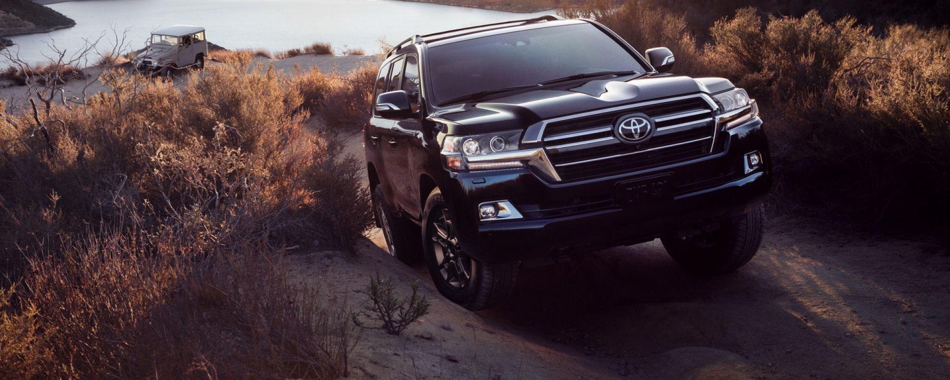 Toyota Land Cruiser Heritage Edition: arriva l'edizione speciale