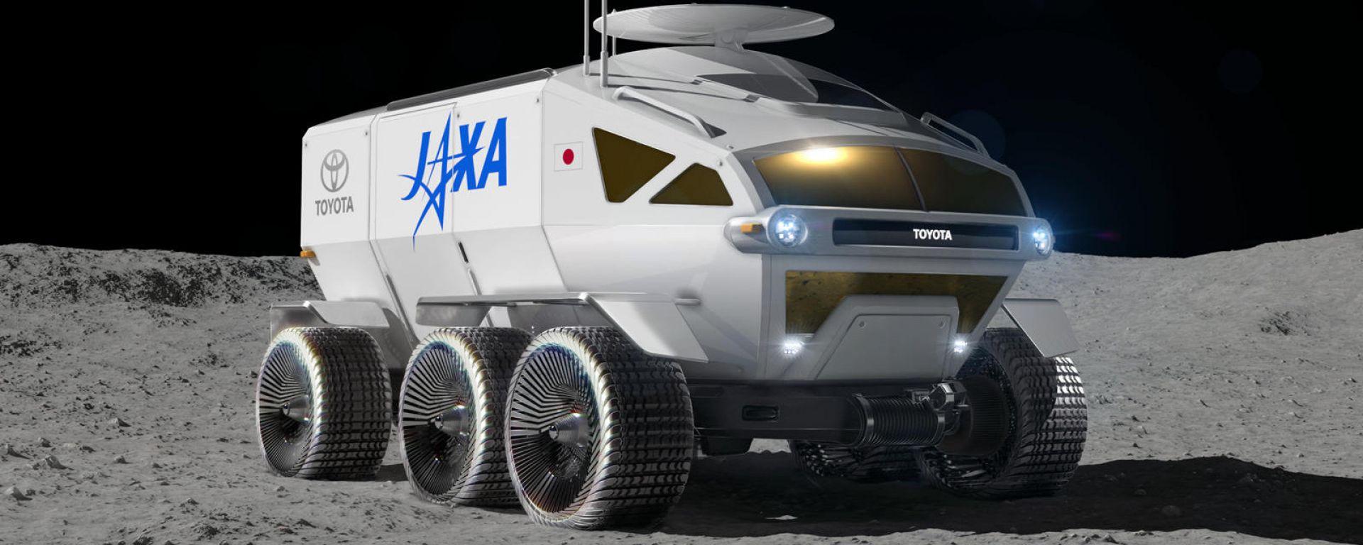 Toyota Lunar Cruiser: il 3/4 anteriore