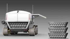 Toyota Lunar Cruiser: il vano di carico